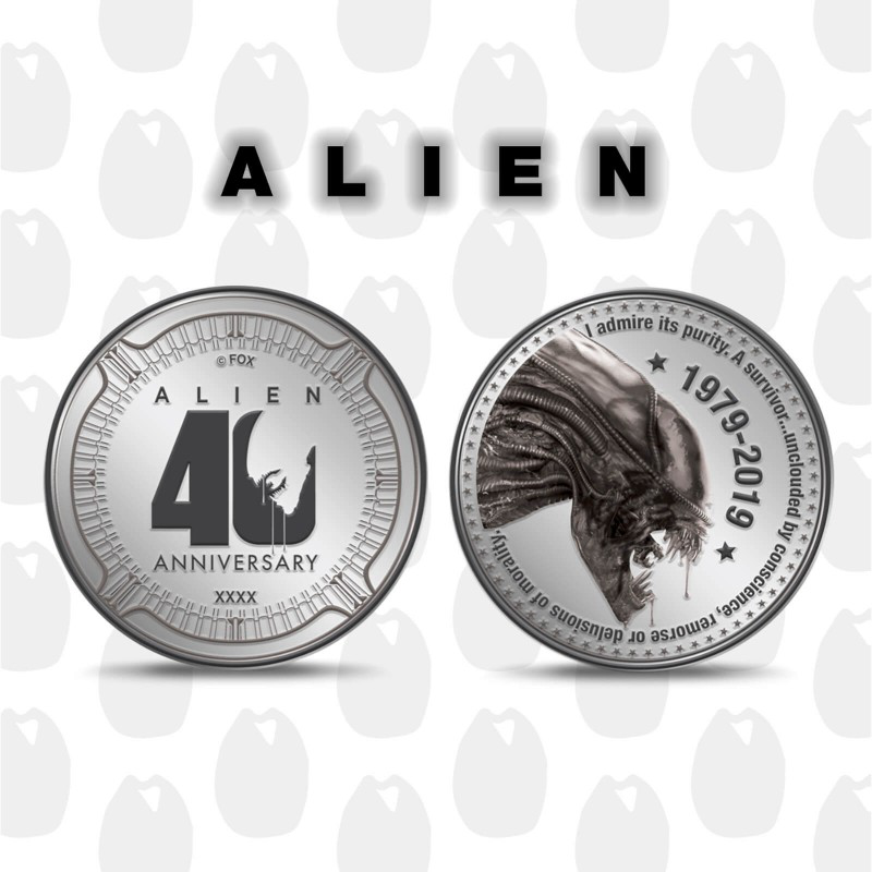 Cinéma Collector Alien 40th anniversary, pièce de collection