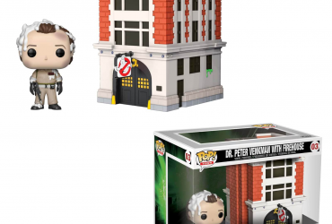 "Ghostbusters ""POP Town"", Peter & Firehouse"