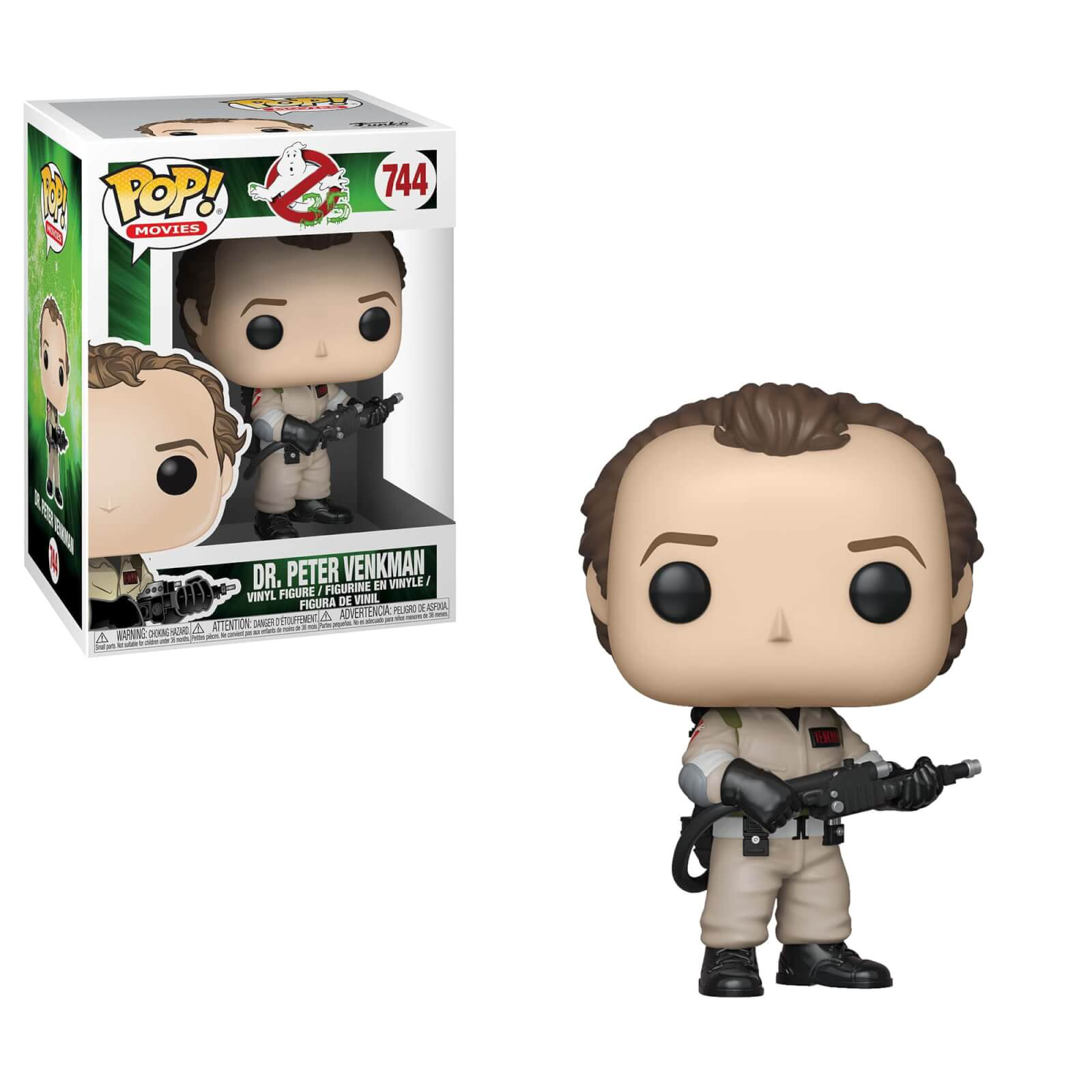 Ghostbusters, Dr Peter Venkman