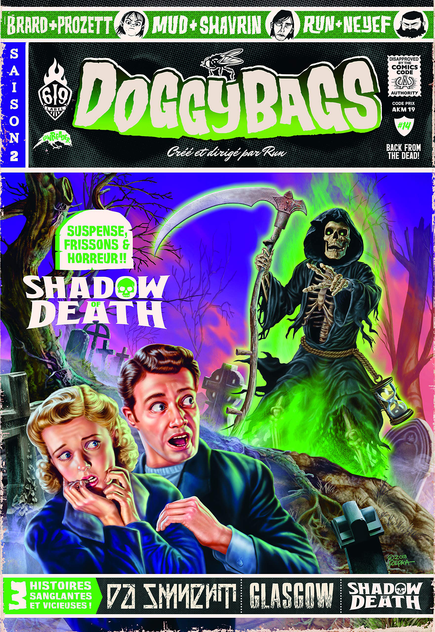 Doggybags tome 14: Shadow of Death