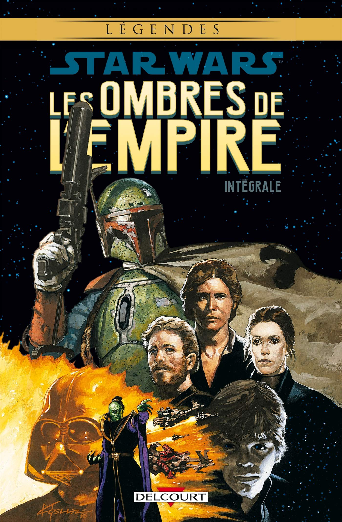 Star Wars: l'Ombre de l'Empire, intégrale