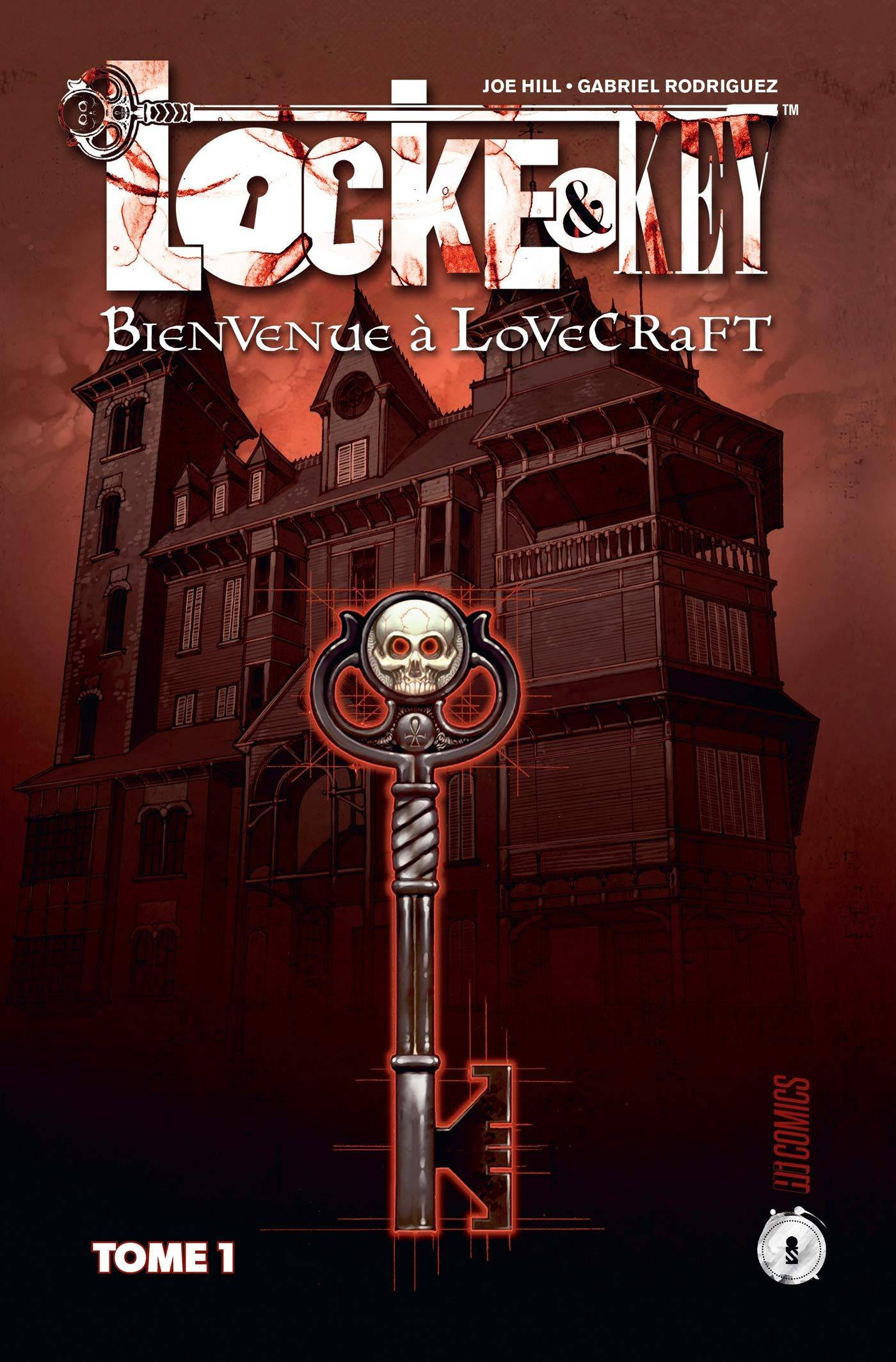 Locke & Key tome 1: Bienvenue à Lovecraft