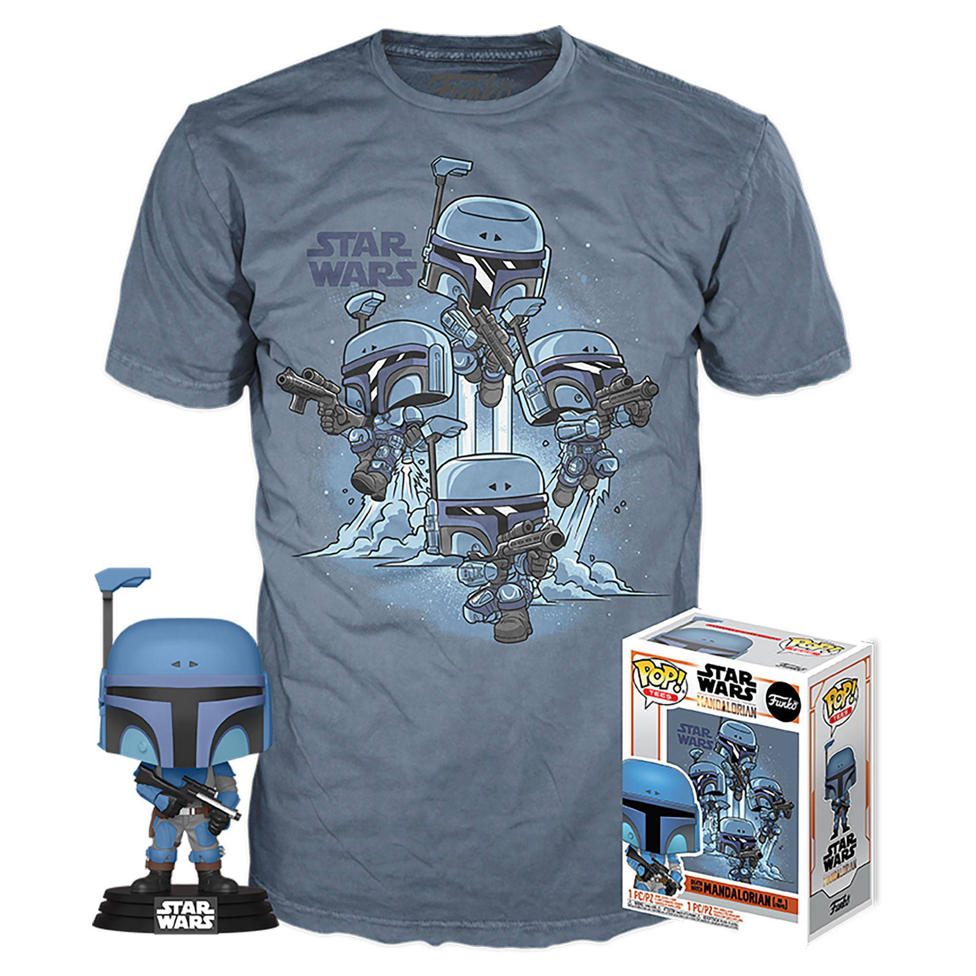 Star Wars The Mandalorian, POP & Tee taille L