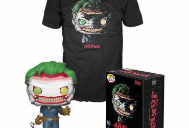 DC Collection Exclusive POP & Tee, Joker Death in the Family (Taille L)
