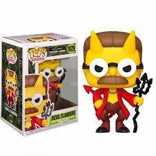 The Simpsons Threehouse of Horror, Devil Flanders