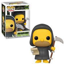 The Simpsons Threehouse of Horror, Grim Homer Reaper