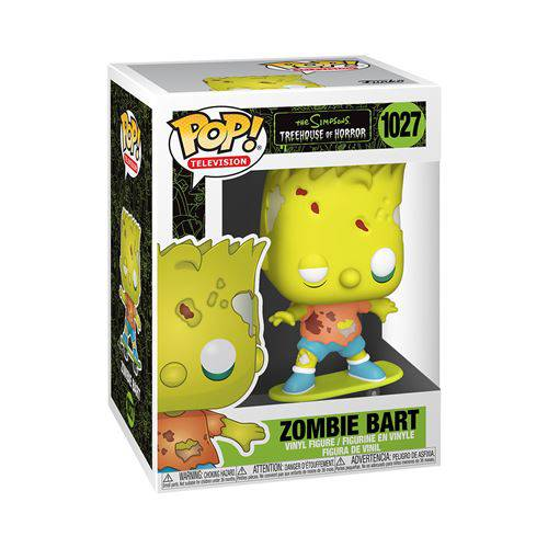 The Simpsons Threehouse of Horror, Bart Zombie