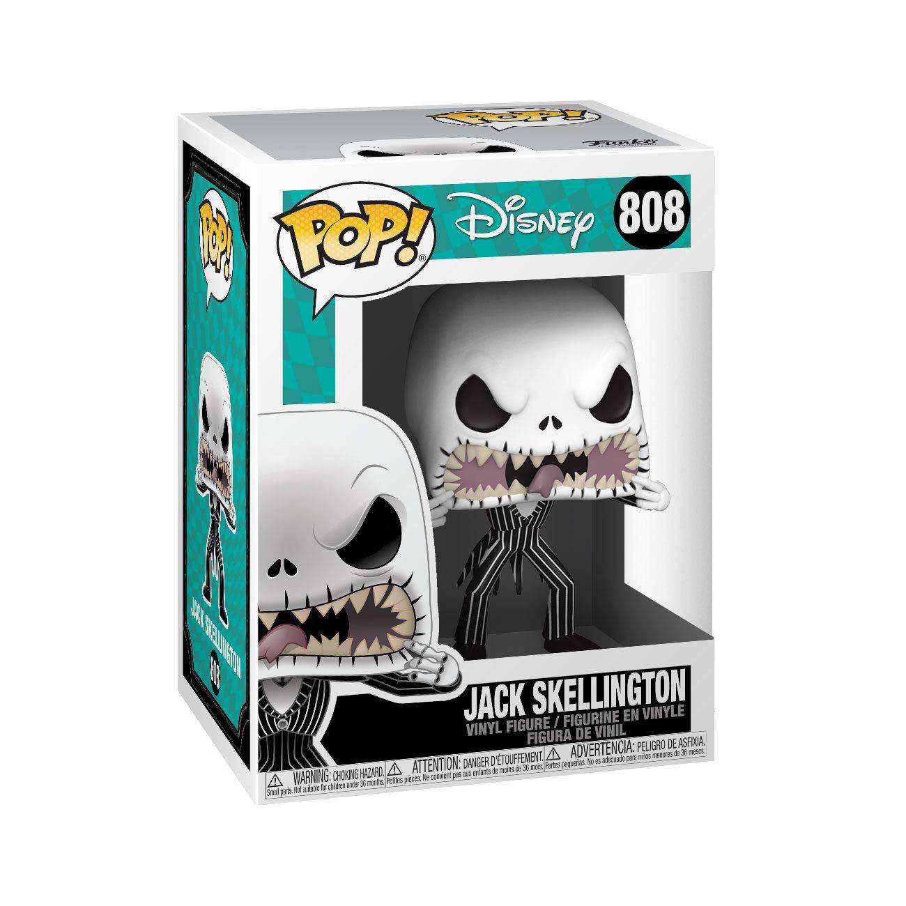 The Nightmare before Christmas, Jack scary face