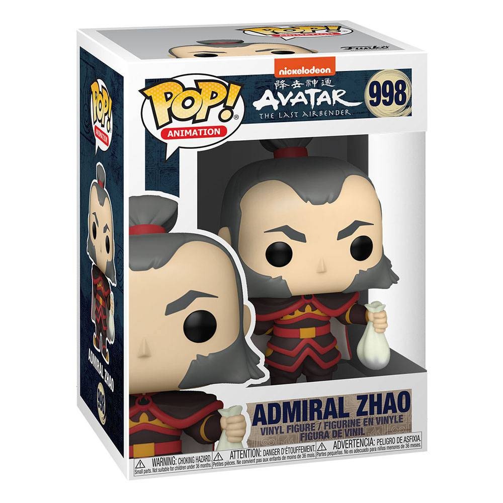 Avatar: the last Airbender, Admiral Zhao