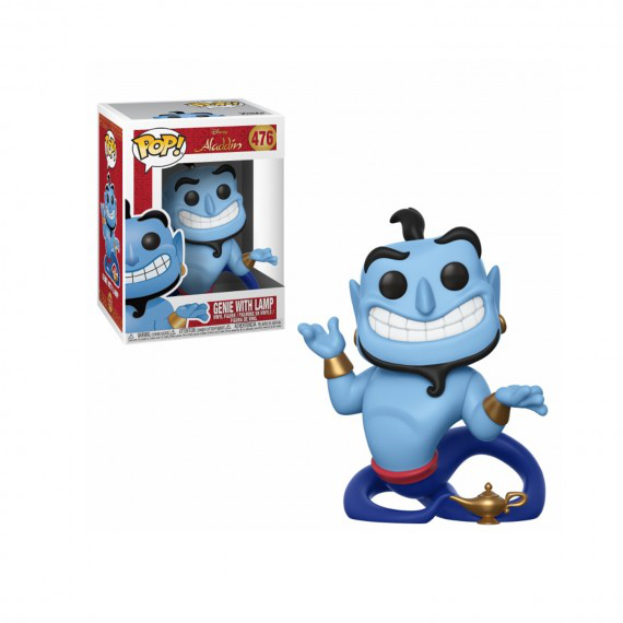 Disney Aladdin, Genie with lamp
